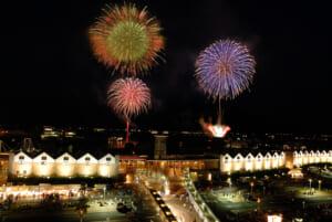 2006年(第6回)花火とドルフィンポート - かごしま錦江湾サマーナイト大花火大会