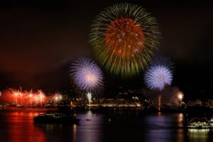 2006年(第6回)花火と錦江湾 - かごしま錦江湾サマーナイト大花火大会