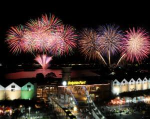 2010年(第10回) - かごしま錦江湾サマーナイト大花火大会