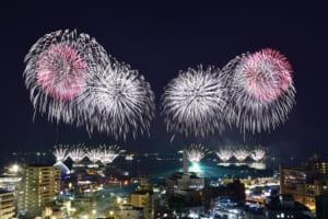 2017年(第17回) - かごしま錦江湾サマーナイト大花火大会